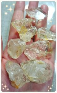 シトリンハーキマーダイヤモンド